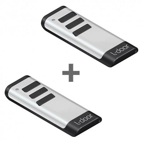DEAL: 2x handzender 3 kanalen E-remote White