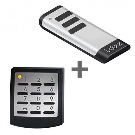 DEAL: handzender E remote + codeschakelaar premium