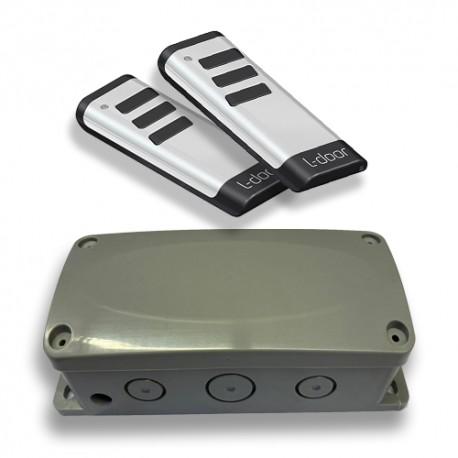Promodeal: Universeel ontvanger + 2x E-remote White
